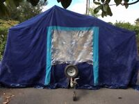 Trailer Tent - 4 Berth, Easy To Tow
