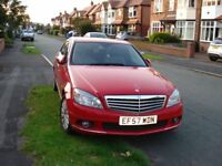 MERCEDES C220 ELEGANCE IMMACULATE - COLOUR RED - MANUAL