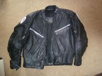 Richa-Leather motorbike Jacket-