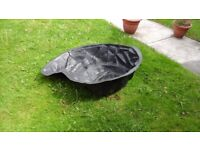 Remanoid garden pond 27x40x15in.made from heavy plastic virtuilly indistructable