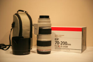 Canon EF 70-200mm f/2.8L IS USM (IMAGE STABILIZATION)