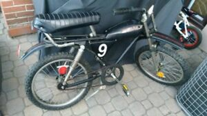 RARE!!1980's Supercycle BMX Cougar Vintage Black Cruiser Bicycle