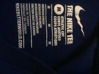Medium boys Blue Nike tee