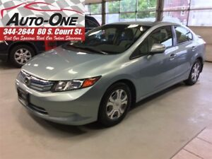 2012 Honda Civic Hybrid Base (CVT)