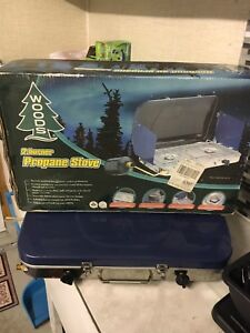 Woods 2 burner camping stove- used once