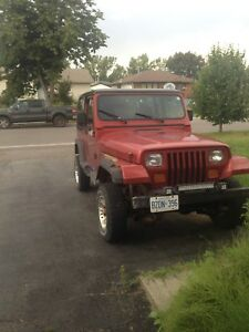 Lifted 1995 jeep