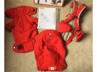 Stokke MyCarrier 3 in 1 baby carrier with original box and instructions