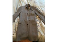 Hugo Boss Winter Coat - Grey - Small