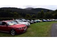MG ROVER free day - Tullymore 2017