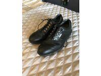 Foot joy black size 7 golf shoes