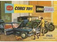 Corgi 1965 Catalogue