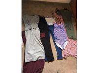 Size 12 maternity clothing bundle