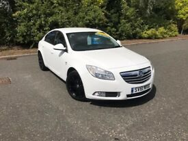 2011 VAUXHALL INSIGNIA SRI WHITE WITH BLACK ALLOYS 35,000 MILES MOT MARCH 2018 £5995 OLDMELDRUM