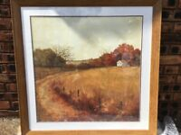 For Sale Country Cottage Scene Painting