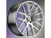 NEW 19'' AVA PHOENIX ALLOY WHEELS 5X120 STAGGERED 5 6 7 SERIES etc