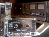 VARIOUS ARTISTS - THE ALL TIME GREATEST MOVIE SONGS VOLUME 1 PRERECORDED CASSETTE TAPE rarely found.