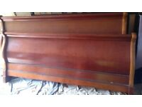 King Sized Sleigh Bed