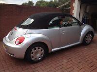 VW Beetle Convertible 2009