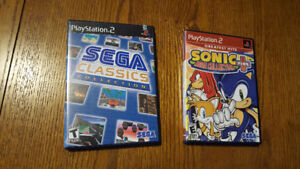 Playstation 2 - Sonic Mega Collection & Sega Classic Collection