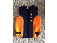 Child life vest, wetsuit, swimsuit age 2-4