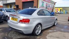 """""""STUNNING"""" BMW 123D M-SPORT COUPE 204 BHP (2008) - RED LEATHER - SAT NAV - HPI CLEAR!"""