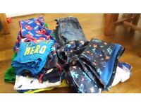 Boys clothes bundle aged mostly 5-6 years