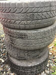 Bf Goodrich winter tires on rims 205/55r16