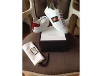 Genuine Gucci trainers, size 5.5