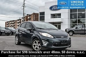 2011 Ford Fiesta SES HATCHBACK - LEATHER - BLUETOOTH - POWER MOO