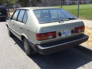 1986 Hyundai Pony Hatchback