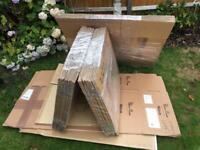 Moving boxes double wall QTY 30