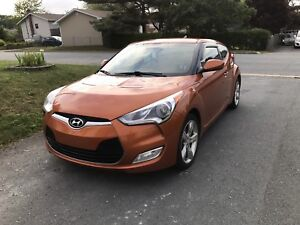 2013 Hyundai Veloster - Manual 6sp - 88k km