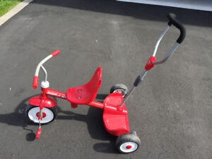 Radio Flyer ride and stand trike