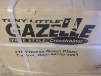 NEW gazelle freestyle cross trainer