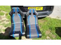 2 GAMING CHAIRS ROCKERS