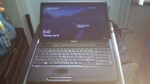Toshiba Laptop Black