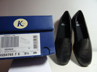 Clarks K Georgia flat shoes size 5.1/2 (39)