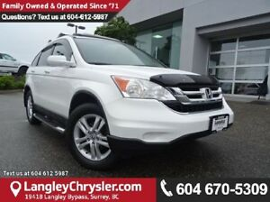2010 Honda CR-V EX-L W/SUNROOF & HEATED  LEATHER UPHOLSTERY