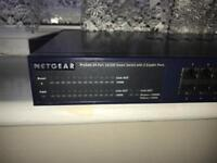 Netgear ProSafe 24 port 10/100 Smart switch