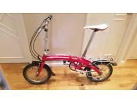 Dahon folding bike like Brompton Tern carrera