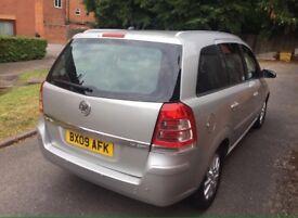 Vauxhall Zafira SRI 1.9 CDTI Diesel 2009