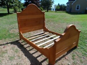 Antique Sleigh Bed frame