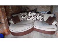 Barker & stonehouse corner sofa.
