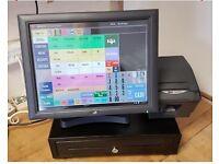 J2 EPOS Bundle. Touch screen till, full set-up