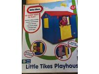 Brand new in the box Little Tikes playhouse