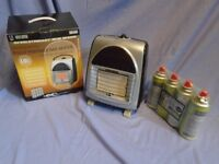 Small Portable 1.5Kw Gas Heater