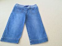 Girl's Boden Denim Shorts age 9