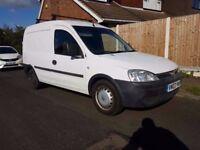 Vauxhall Combo Van 2003 1.7 Diesel Side Loading Door FULL MOT