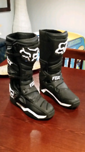 Fox dirtbike boots tec 8
