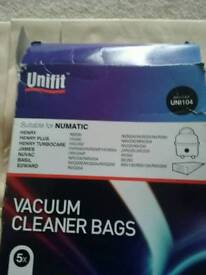 Henry vacuum cleaner bags